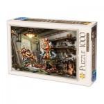 Puzzle  Dtoys-72894-CT01 Biro Donat: Pinnochio