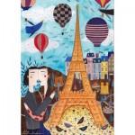 Puzzle  Dtoys-73730-CI01-(73730) Kurti Andi - Paris