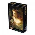 Puzzle  Dtoys-73853-AP03-(73853) Sophie Anderson - Take the Fair Face of Woman