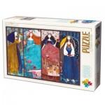 Puzzle  Dtoys-73860-KA01 Kurti Andi - Collage