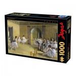 Puzzle  Dtoys-74515 Edgar Degas - Foyer de la danse à l'Opéra de la rue Le Peletier