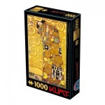 Puzzle  Dtoys-74560 Gustav Klimt : L'Accomplissement