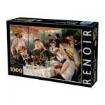 Puzzle  Dtoys-74584 Auguste Renoir - Déjeuner des Canotiers