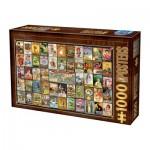 Puzzle  Dtoys-74638 Vintage Collage - Thés