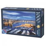 Puzzle  Dtoys-74720 Port de Marseille, France