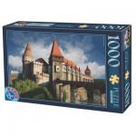 Puzzle  Dtoys-74768 Château de Hunedoara, Château des Corvin - Roumanie