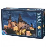Puzzle  Dtoys-74775 Château des Corvin by Night - Roumanie