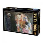 Puzzle  Dtoys-74935 Klimt Gustav - La Vie et la Mort, 1916