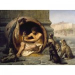 Puzzle  Dtoys-75017 Jean-Léon Gérôme : Diogène, 1860