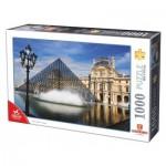 Puzzle  Dtoys-75772-FR01 Le Louvre, Paris