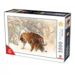 Puzzle  Dtoys-75987 Tigres