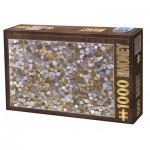 Puzzle  Dtoys-76441 Collection Vintage - Pièces de Monnaie