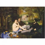Puzzle  Dtoys-76458 Manet Edouard - Déjeuner sur l'herbe