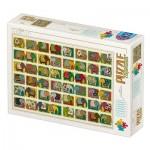 Puzzle  Dtoys-77516 David Katai Eszter : Pattern Elephants