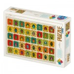 Puzzle  Dtoys-77530 David Katai Eszter : Pattern Owls