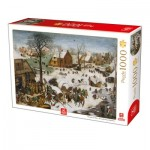 Puzzle   Breughel Le Vieux - The numbering at Bethlehem