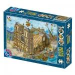 Puzzle   Cartoon Collection - Notre Dame