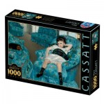 Puzzle   Mary Cassatt : Little Girl in a Blue Armchair