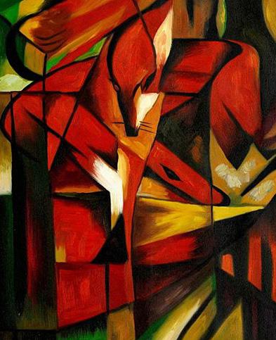 Puzzle Ricordi-54072 Franz Marc - The Foxes