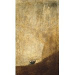 Puzzle   Francisco De Goya - The Dog from black paintings