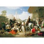 Puzzle  Educa-13190 Collection spéciale Turquie : Marché aux esclaves d'Istanbul