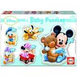 Educa-13813 Baby puzzle - 5 puzzles - Disney : Mickey