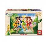 Educa-14659 Puzzle en Bois - Disney Fairies