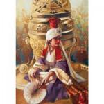 Puzzle  Educa-14724 Kamil Aslanger - Sultan Mahi Nigar and Incensory
