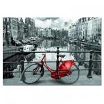 Puzzle  Educa-14846 Le Canal, Amsterdam, Hollande