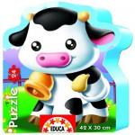Educa-14961 Puzzle Forme - Vache