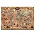 Puzzle  Educa-15159 Mappemonde