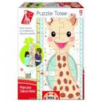Educa-15505 Puzzle Géant - Toise Sophie la girafe