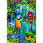 Puzzle  Educa-15512 Paradis tropical