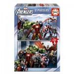 Educa-15771 2 Puzzles - Avengers