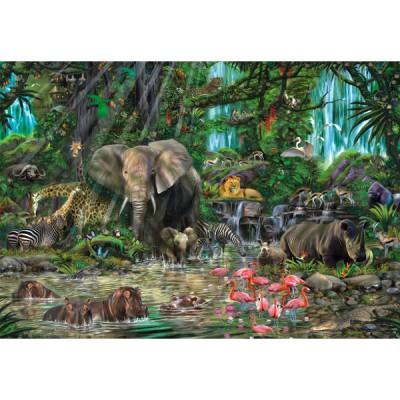Puzzle Educa-16013 Jungle Africaine