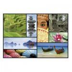 Puzzle  Educa-16294 Couleurs d'Asie