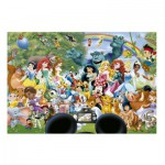 Puzzle  Educa-16297 Le Monde Merveilleux de Disney II