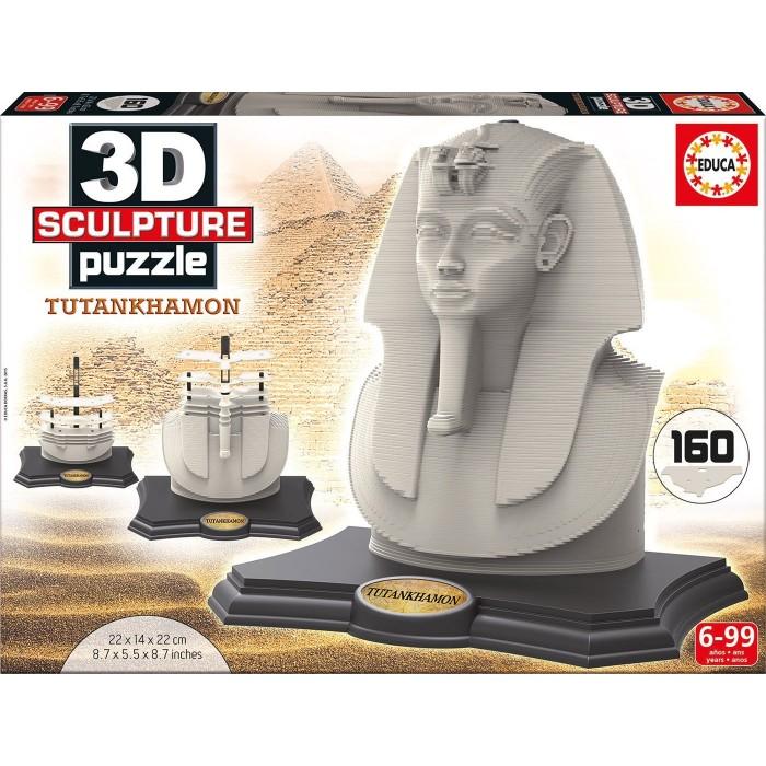 Puzzle Sculpture 3D - Toutankhamon