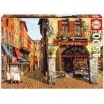 Puzzle  Educa-16770 Salumeria, Viktor Shvaiko - Colors of Italy