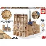 Educa-16974 Puzzle 3D en Bois - Notre Dame de Paris