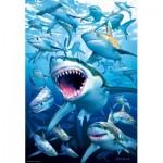 Puzzle  Educa-17085 Requins