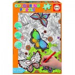 Educa-17089 Puzzle à Colorier - All Good Things are Wild and Free