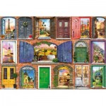 Puzzle  Educa-17118 Doors of Europe