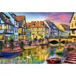 Puzzle  Educa-17134 Canal de Colmar, France
