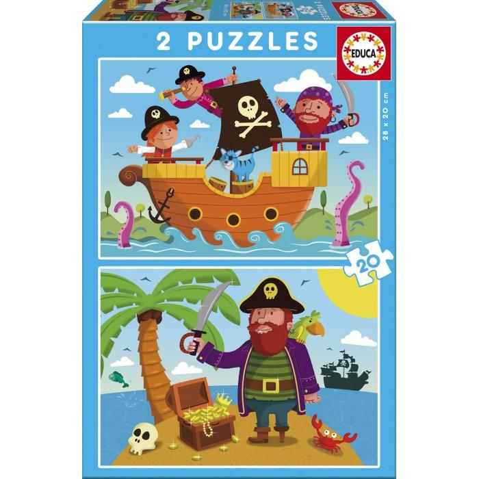 2 Puzzles - Pirates