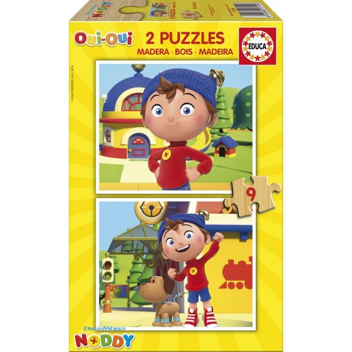 2 Puzzles en Bois - Oui-Oui
