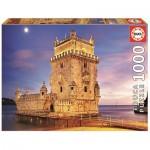 Puzzle  Educa-17195 Tour de Belém, Lisbonne, Portugal