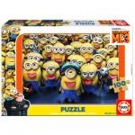 Educa-17233 Puzzle en Bois - Minions