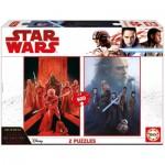 Educa-17464 2 Puzzles - Star Wars