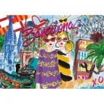 Puzzle  Educa-17651 Barcelone